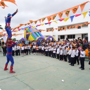 11 Even Spiderman and Captain America are present