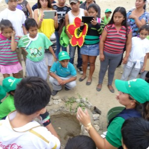 15 The students will learn how to plant a tree