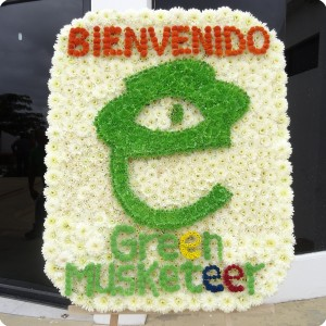 2 The opening of the Green Musketeer project in Ecuador