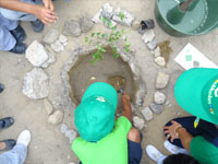 The first Green Musketeer project in Ecuador with 3000 students