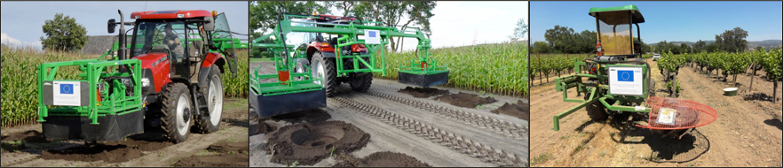 Make fast and cheap planting holes in every soil - let the capillary structure intact and use the capillary drills of Groasis
