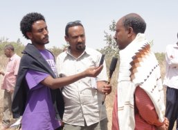 Mr. Aregawi Eatay Tesfay lecturer at the college of Dryland Agriculture and Natural Resources  Mekelle University