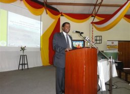 Dr Leonard Kiman, Director Economics of National Economic Social Counsil of Kenya speeches
