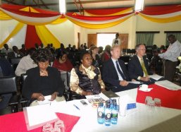 Ms Anne Kimani (second left) organized the opening ceremony in coop with ANU