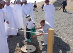 Teaching the young Omani