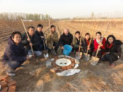 36 China Beijing Huangfa Nursery with Groasis Waterboxx plant cocoon
