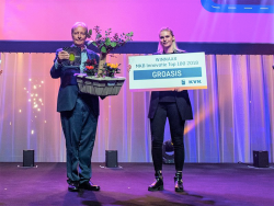 66 2018 Groasis awarded No 1 Most innovative company of SME Top100 companies of The Netherlands organized by Dutch ChamberOfCom